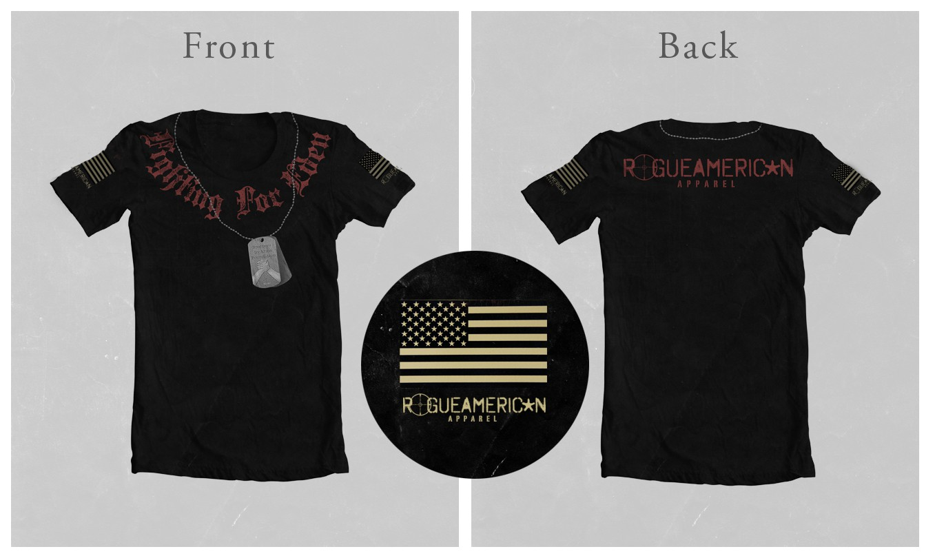 Help Rogue American with a new t-shirt design