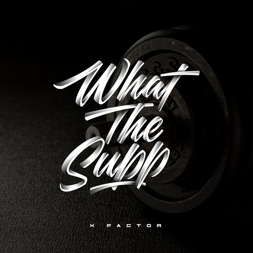 concept logo for what the supp