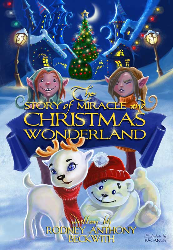 Create the next book cover for 'Miracle and Christmas Wonderland'