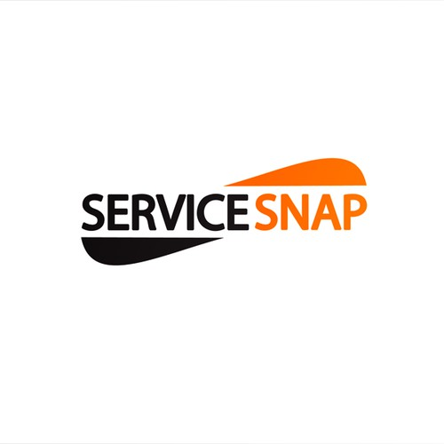"""Logo for Service Network """"ServiceSnap"""""""