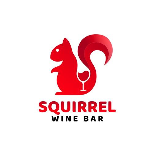 Squirrel wine bar