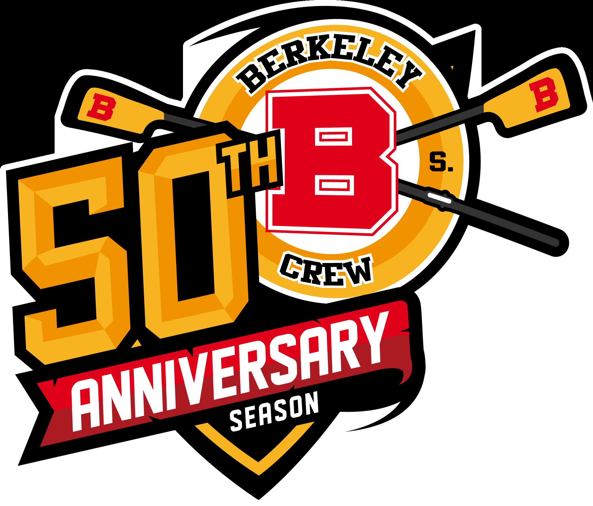 BHS Crew 50th Anniversary Logo