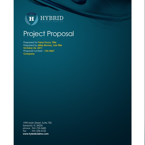 proposal design HYBRID Claiims Group