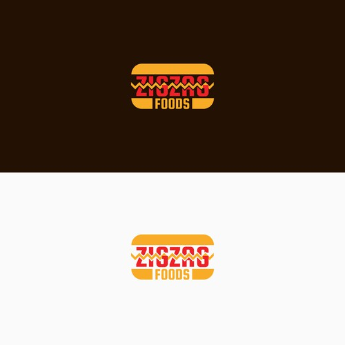 Logo Concept for ZigZag Food