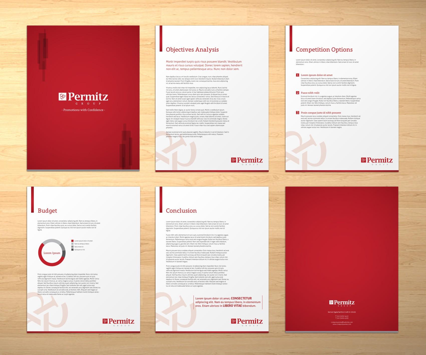 Create the next brochure design for www.permitzgroup.com.au