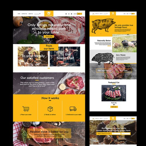 Pork Farm Website
