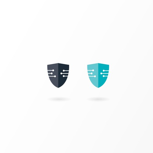 Logo concept for cyber security company