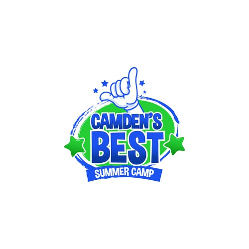 Logo for children best summer camp