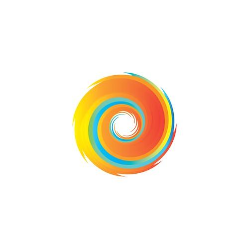 Spiral icon for logo