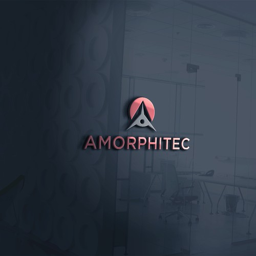 Create a logo that shows Amorphitec are an evolving technology company.