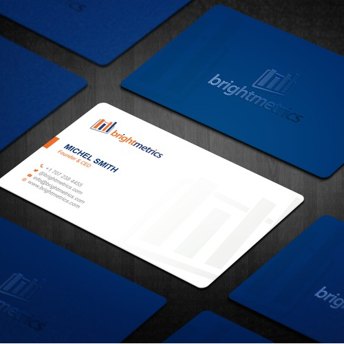Design a Business Card for our Data Analytics Company