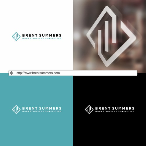 Design a modern logo for savvy consultant who helps tech startups.