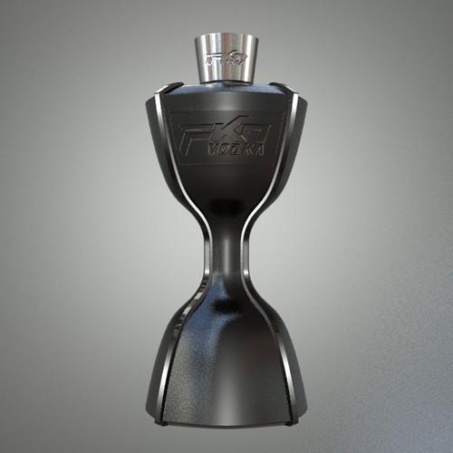 Vodka Bottle Design