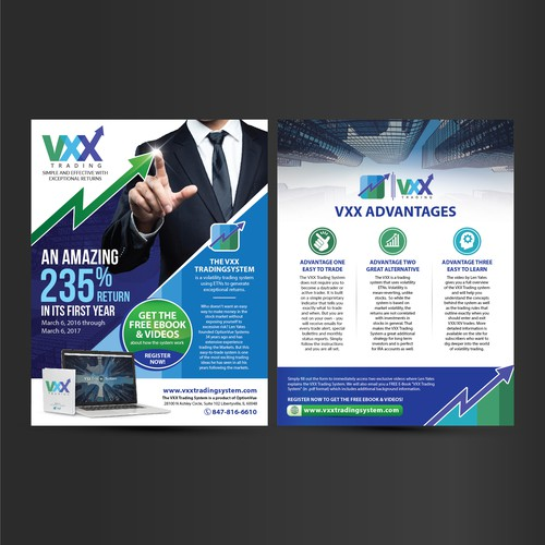 vxx trading flyer