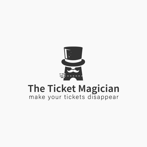 ophisticated logo for the Ticket Magician