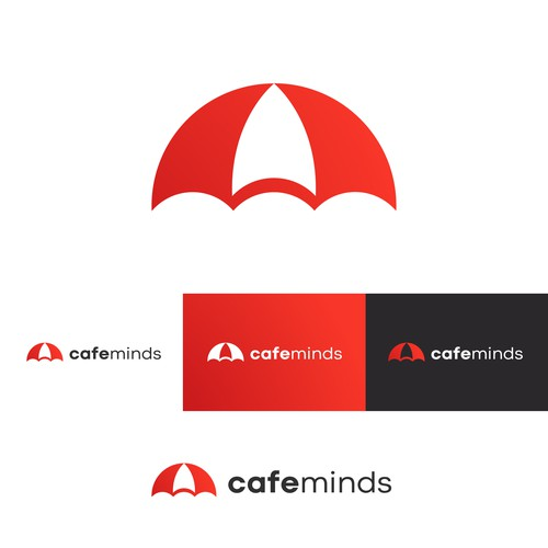 cafemind logo concept