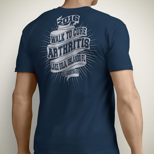 Walk to cure Arthritis tshirt contest