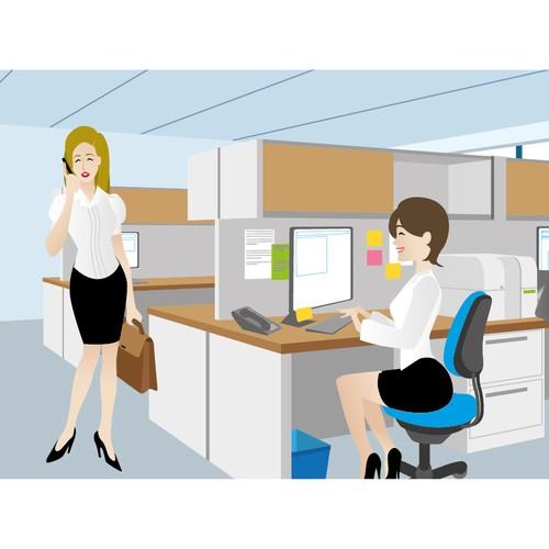 Workforce Illustration