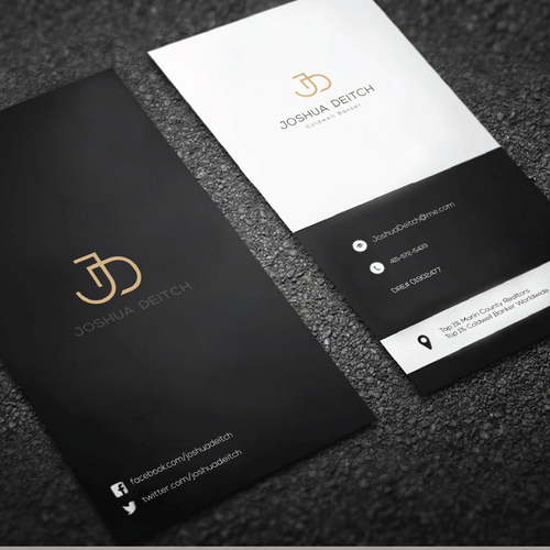 logo for luxurious Real Estate firm.