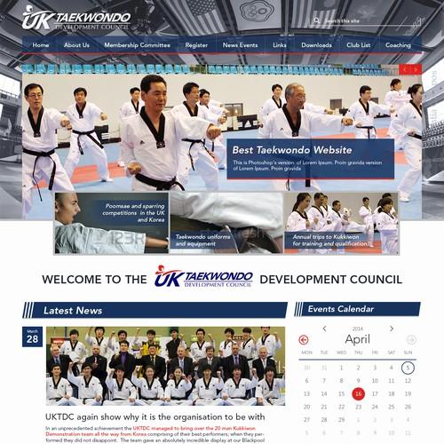 Web Design for UKTDC