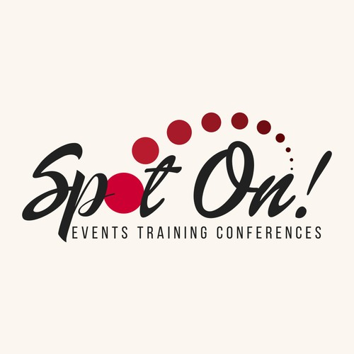 Logo design for Spot On Events