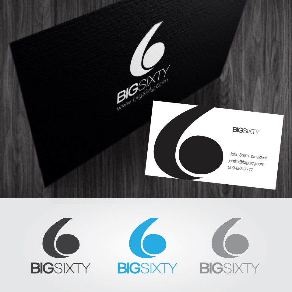 Help Big Sixty with a new logo and business card