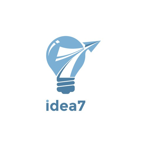 Logo concept for 'idea 7'