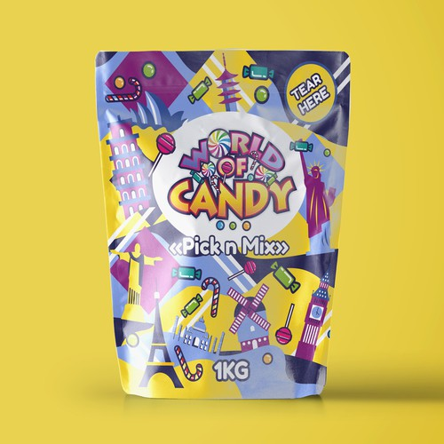"""""""World of candy' packaging"""