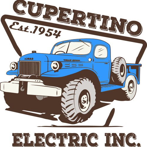 Vintage Truck Design For A Campany