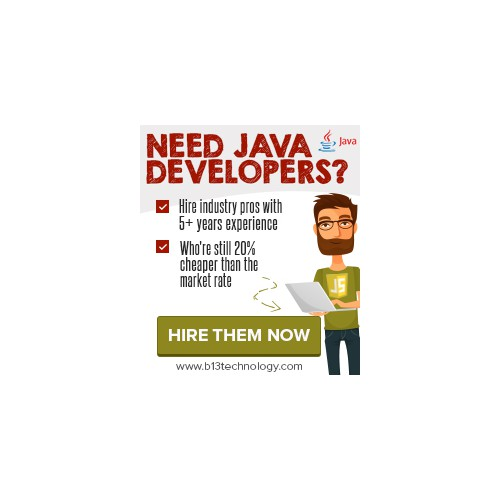 Curiosity driven BANNER AD for Software Development company