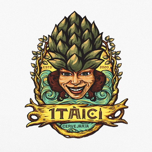 Logo design concept for Itaici brewery