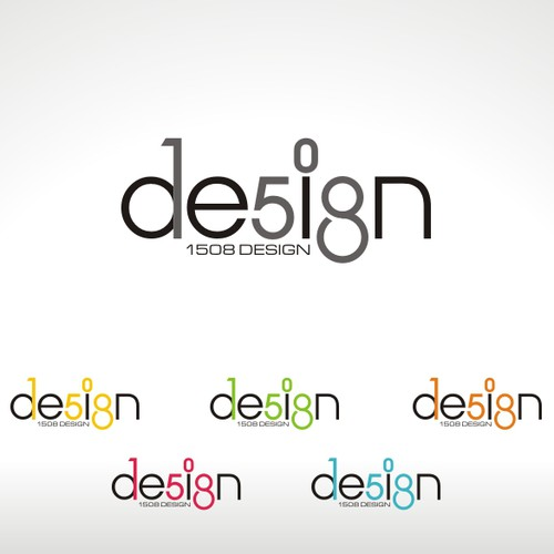 logo for 1508 Design