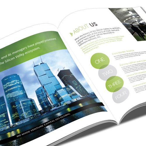 Help Sofinnova Ventures, Inc. with a new brochure design