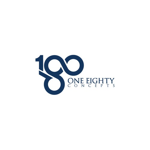 a capturing corporate identity for One Eighty Concepts