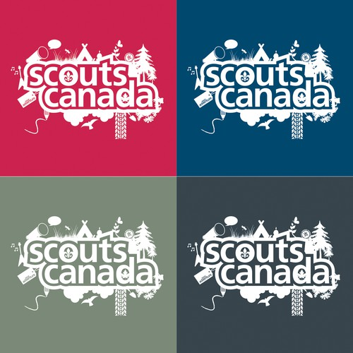 Scouts Canada needs a modern t-shirt and hoodie design!