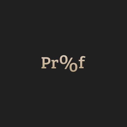 Logo design for Proof