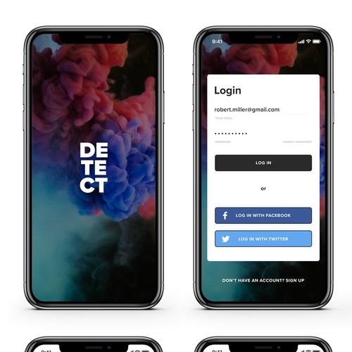 Detect - evens app