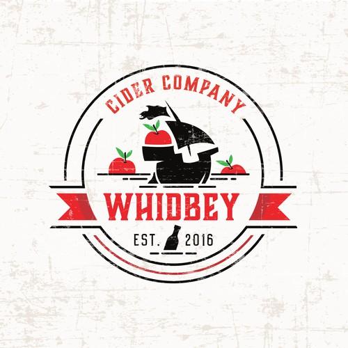 Logo for a cider company.