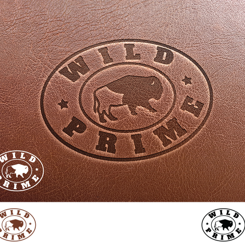 A tough, rugged logo for a durable leather product - WildPrime