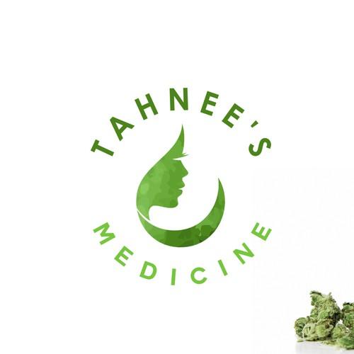Logo concept for medical marijuana