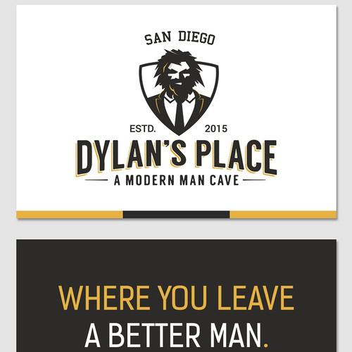 Simple, modern flyer for men