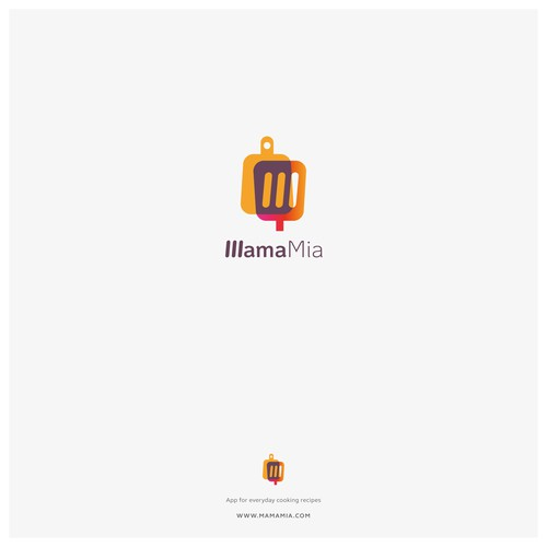 Logo concept for an app with every day cooking recipes