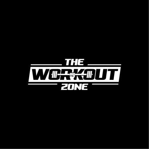 Gym workout logo