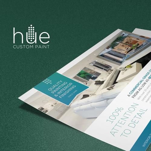 Jumbo post card for painter decorator
