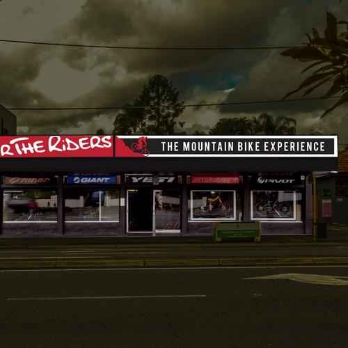Signage for bike store, Brisbane.