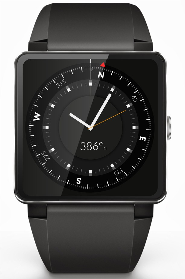 Create stylish Compass Watch faces for  Smart Watch.