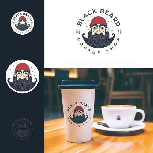 Logo design for neighborhood Cozy Coffee Shop