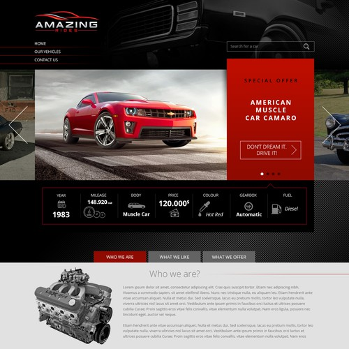 Car Selling Website