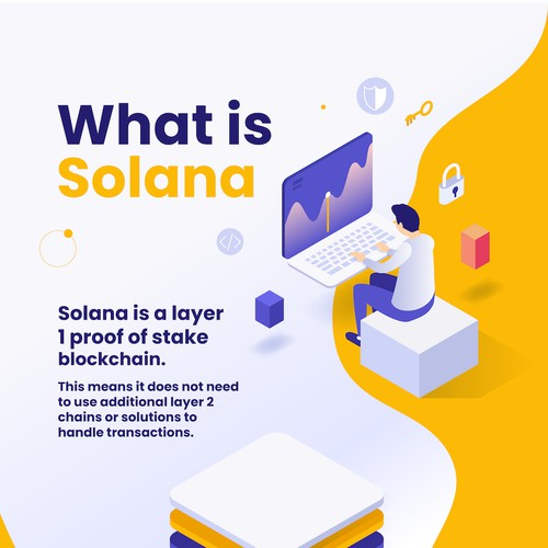 Infographic Blockchain Solana