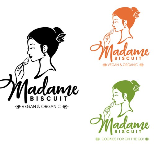 Logo concept for madame biscuit